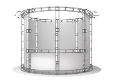 Messenbinder, Ausstellungspavillon Abbildung 3D Lizenzfreie Abbildung
