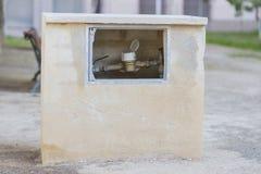 Messender Wasserstrom Lizenzfreie Stockbilder