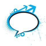 Messenger window. Icon  illustration isolated on white background Stock Photos