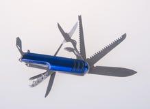 Messer Armeemesser Armee-Messer auf dem Hintergrund Stockbilder