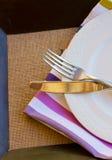 Messer und Gabel Stockfotografie