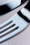 Messer und Gabel Lizenzfreie Stockfotos
