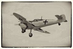 Messerschmidt bf109 Stock Images