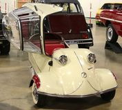 1955 Messerschmitt Antique Automobile Royalty Free Stock Photos