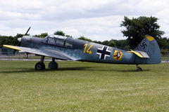 A Messerschmitt Bf 108 aircraft. Royalty Free Stock Photography