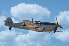 Messerschmitt Bf 109/我109 图库摄影