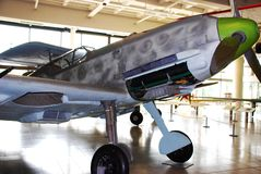 Messerschmitt Bf 109 E obraz stock