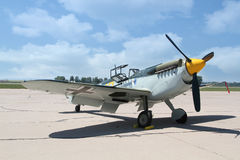 Messerschmitt Bf 109/ Me 109 Stock Photo