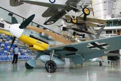 Messerschmitt bf 109. Old airplane Messerschmitt bf 109, Hanover aviation musiem, Germany Royalty Free Stock Images