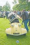 Messerschmitt bubble car. With plastic roof open shown at the Vintage Wheels Rally held on 11 th August 2013 at Brodie Castle Stock Photography