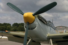 Messerschmitt 109G Buchon. The Spanish airforce version used in the Battle of Britain film Stock Image