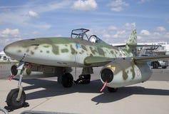 Messerschmitt Ja 262 stojaka na lotnisku w Berlin Zdjęcie Stock