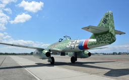 Messerschmitt ME-262 Royalty Free Stock Photography