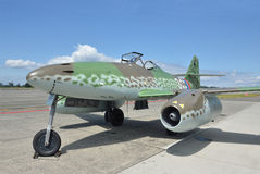 Messerschmitt me-262 Stock Foto