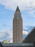 Messeturm - Fair Tower in Frankfurt, Germany Stock Image