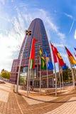 Messeturm - Fair Tower of Frankfurt Stock Image