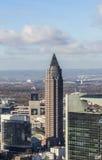 Messeturm, Frankfurt magistrala, Niemcy - Am - fotografia royalty free