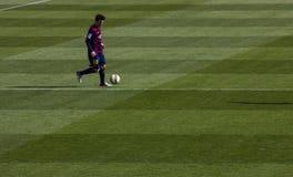 Messi dryblować Obrazy Stock