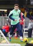 Messi en la sesión de formación del FC Barcelona Foto de archivo