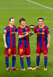 Messi FIFA Weltspieler Lizenzfreies Stockbild