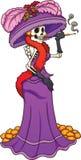 Messicano Catrina Royalty Illustrazione gratis