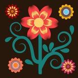 Messicano del fiore illustrazione vettoriale