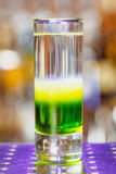 Messicano verde sparato cocktail Fotografia Stock