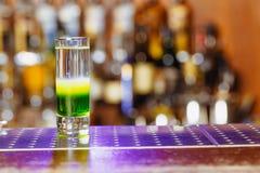 Messicano verde sparato cocktail Immagini Stock Libere da Diritti