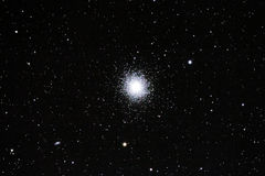 Messier 13 (M13) - Hercules Globular Cluster. Astrophotograph of the Great Globular Cluster from Hercules constellation, known under the designation of M13 ( royalty free stock images
