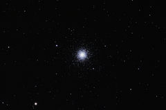 Messier M3 - Globular cluster in Canes Venatici. Astrograph of M3 (Messier 3), a large globular cluster in Canes Venatici. This cluster is among the largest and stock photos