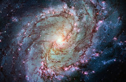 Messier 83, Southern Pinwheel Galaxy, M83 in the constellation H. Ydra. Elements of this image are furnished by NASA. Retouched image stock photography