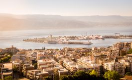 Messina channel Royalty Free Stock Photography