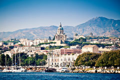 Messina cityscape Royalty Free Stock Photo