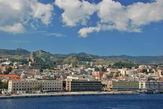 Messina cityscape Royalty Free Stock Photography