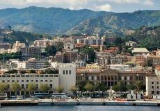 Messina cityscape Royalty Free Stock Image