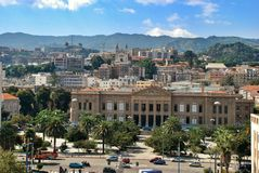 Messina cityscape Stock Images