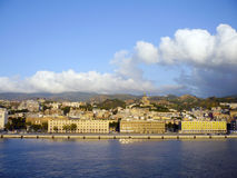 Messina cityscape. Sicily island Royalty Free Stock Photo