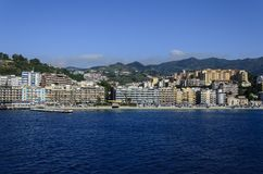 Messina, Italy. Panoramic view at Messina, Italy Stock Photography
