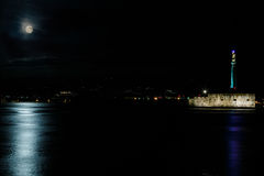 Messina at night Stock Photography