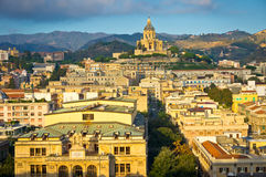 Messina old city, Sicily, Italy Royalty Free Stock Images