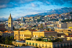 Messina old city, Sicily, Italy Stock Image