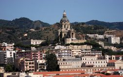 Messina panorama Royalty Free Stock Images