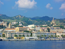 Messina, Sicília da água Foto de Stock