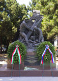 Messina. Sicily. Monument to Russian sailors, heroes of mercy and self-sacrifice. Royalty Free Stock Images