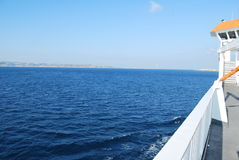 Messina Strait Royalty Free Stock Images