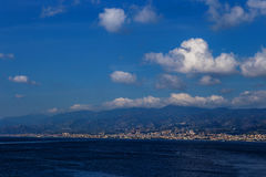 Messina town, Sicily Royalty Free Stock Photo