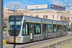 Messina tram Stock Photo