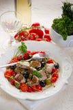 messinese туна рецепта Стоковые Фото