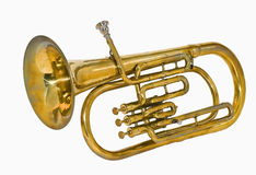 Messingsinstrument Royalty-vrije Stock Foto's