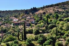 Messinia village Royalty Free Stock Photos